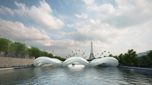 The Coolest Bridge In Paris