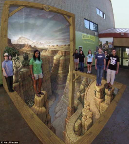 Amazing 3D Images On Pavements