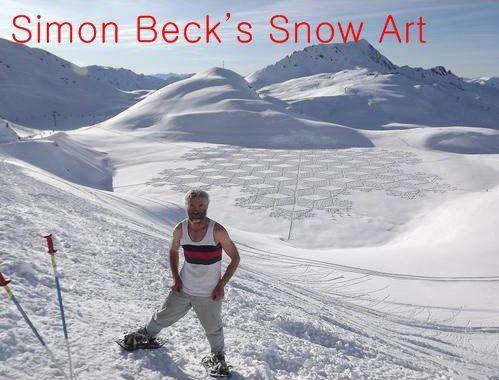 Most Amazing Snow Art
