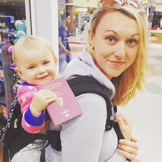 Cute 1-Year-Old Baby Has Been Travelling Around The World Since She Was Born