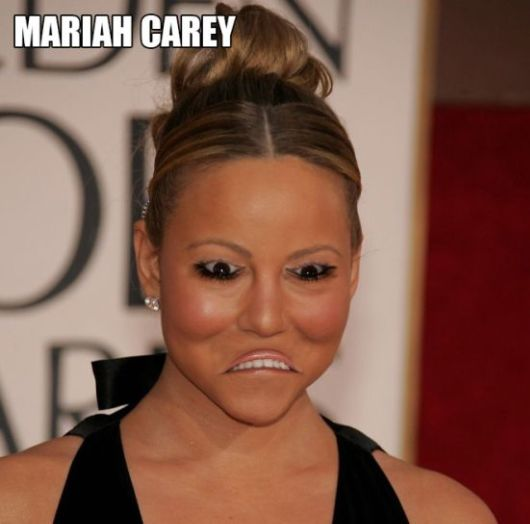 Celebrities With Inverted Eyes and Mouths
