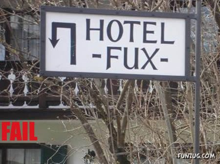 The Worst Names For A Hotel