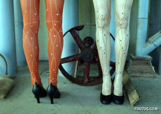 Most Bizarre Tights Fashion