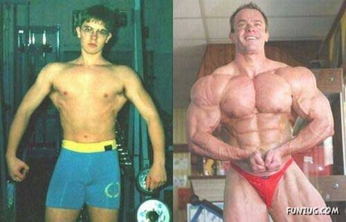 Bodybuilding - Before And After Pictures