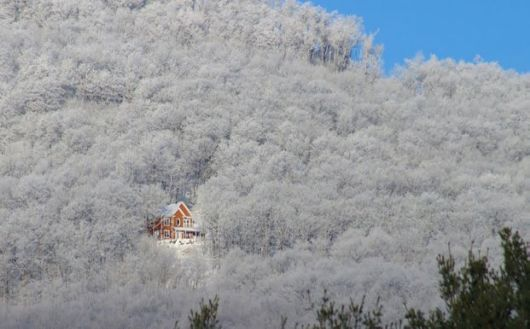 Beautifully Remote Houses Lost Within Wintery Landscapes