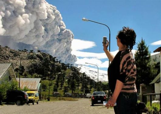The Volcanic Eruption Copahue