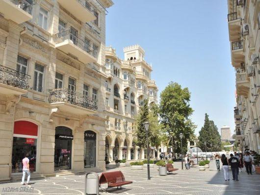 The Beautiful Baku CIty In Azerbaijan