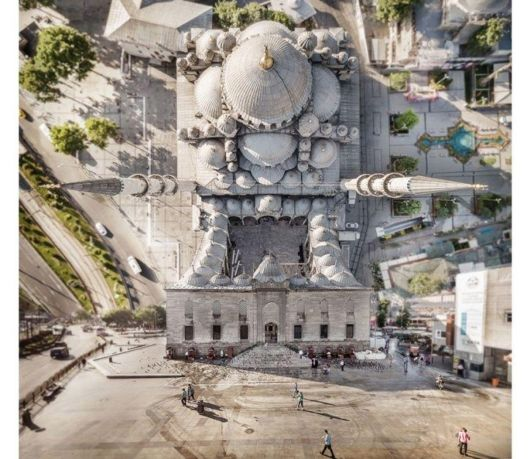 Insane Pictures That Make Istanbul Look Like A Scene From Inception