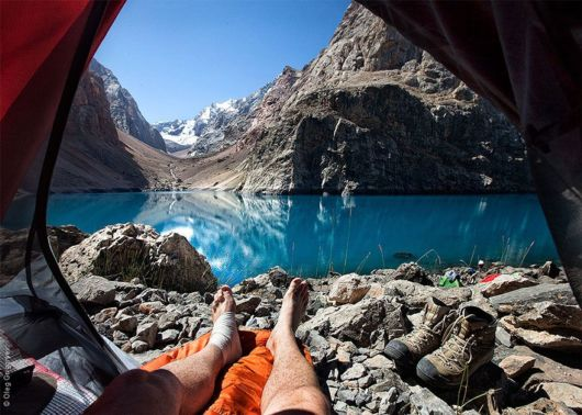 Breathtaking Morning Views From The Tent