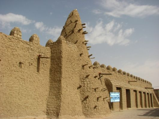 The Sankore Mosque In Timbuktu