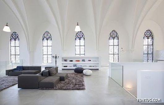 A Church Converted Into A House