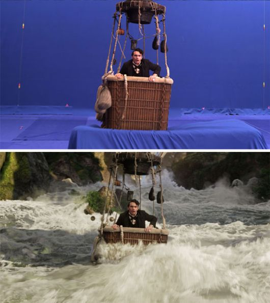 Revealing Before-And-After VFX Shots From Movies And TV Series