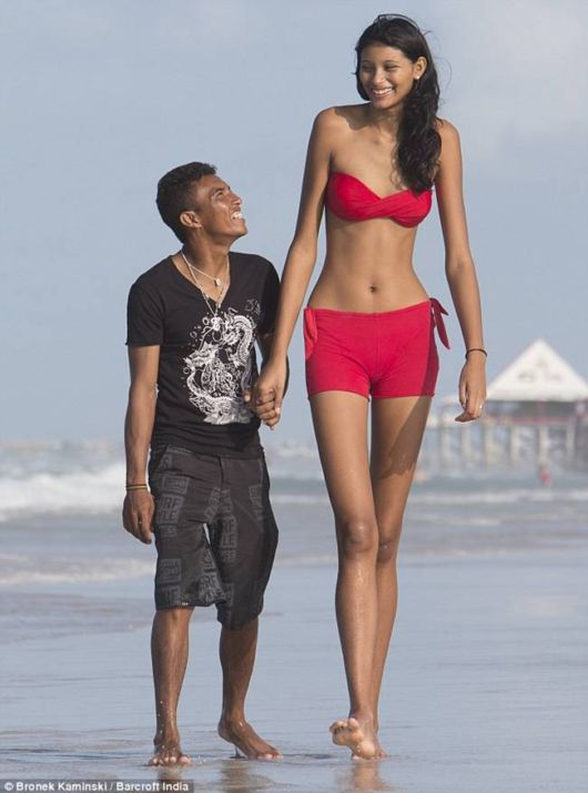 The Tallest Girl Elisaia da Silva