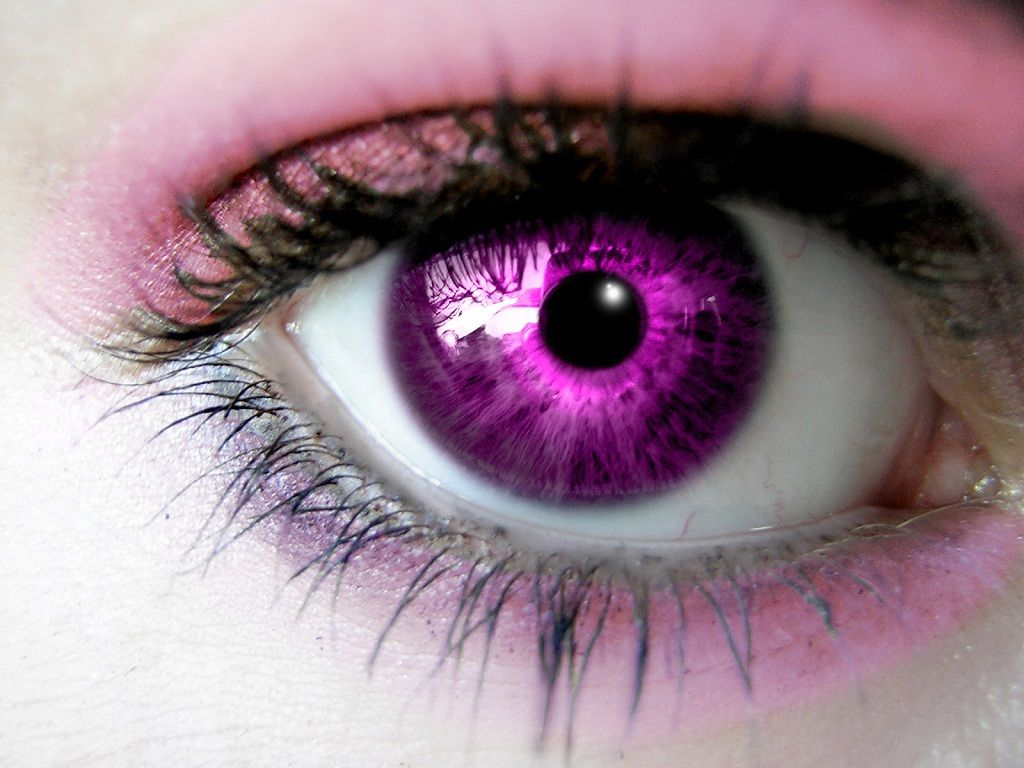 Pink Eyes Wallpaper