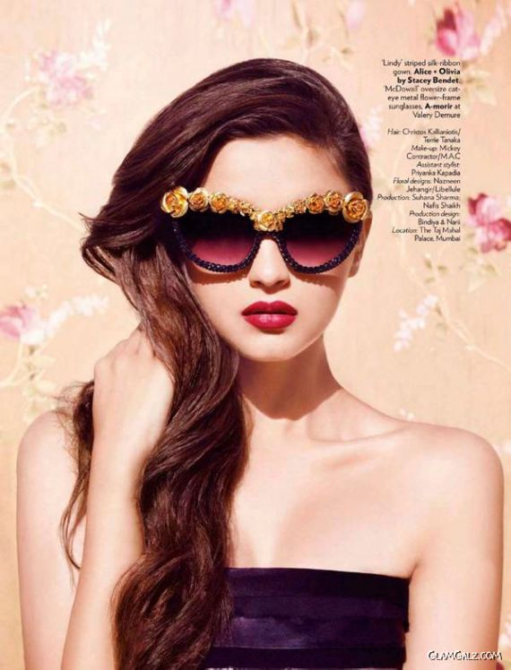 Alia Bhatt Shoots For Vogue India