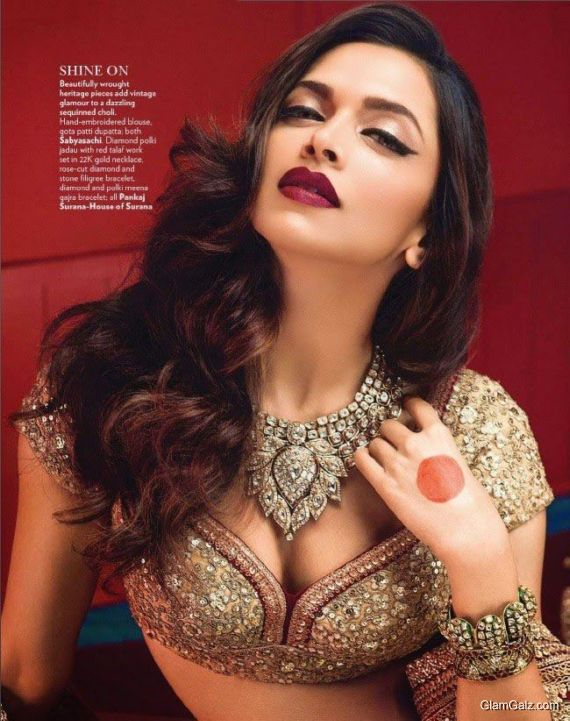 Deepika Padukone Exclusive Shoot For Vogue India