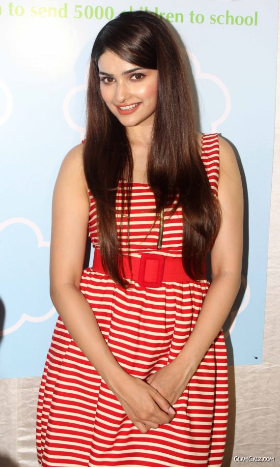 Prachi Desai Looks Awesome In Red Dress