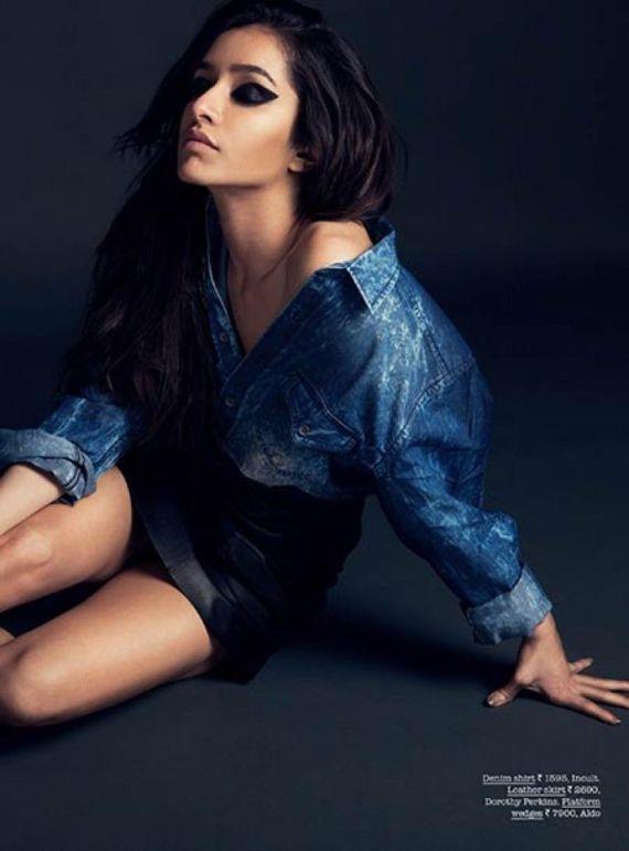 Shraddha Kapoor Poses for Fashion Magazine