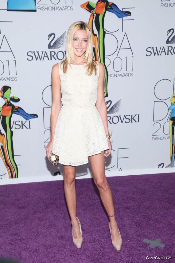 Katie Cassidy Heading To The Fashion Awards