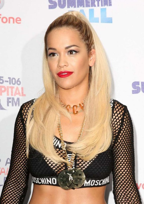 Rita Ora At 2014 Capital Summertime Ball in London
