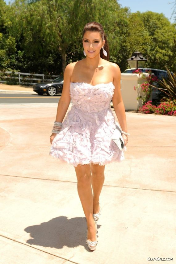 Miss Kardashian At Her Bridal Shower Party