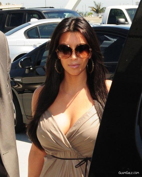 Miss Kardashian After Her Wedding