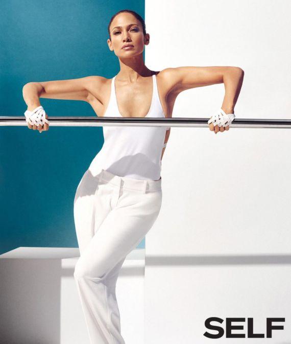 Jennifer Lopez Shoots For Self Magazine