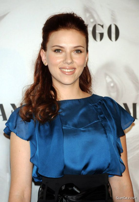 Beautiful Scarlett Johansson Promoting Mango