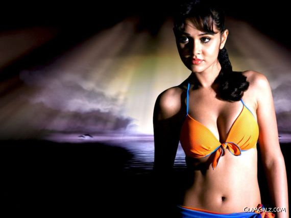 Click to Enlarge - Nisha Kothari Hot Wallpapers