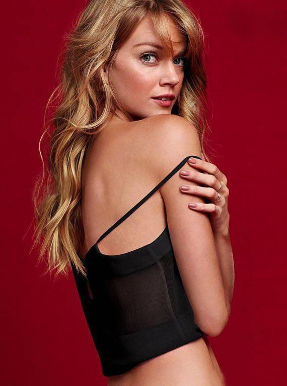 Lindsay Ellingson Shoots For Victoria's Secret