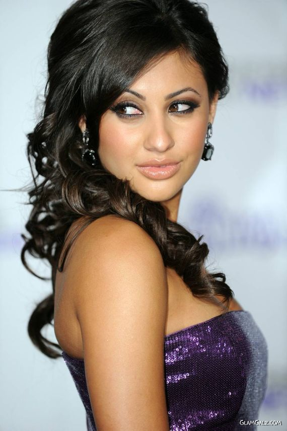 Francia Raisa At A Premiere in LA