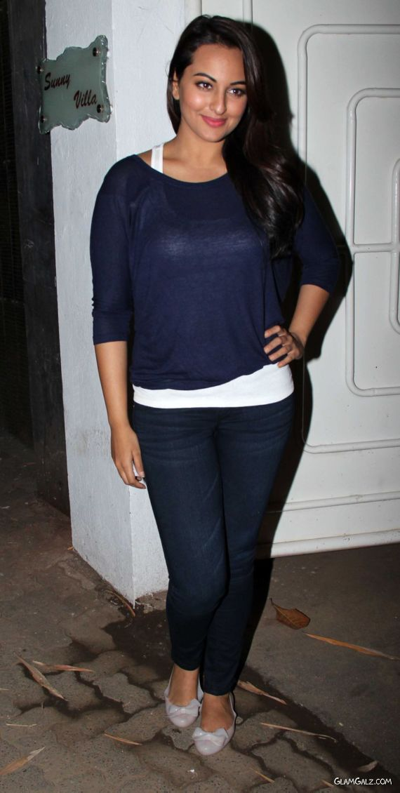 Sonakshi Sinha At Special Screening Of Her Movie