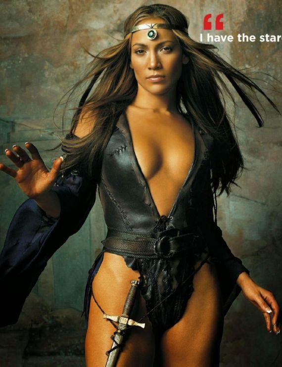 Jennifer Lopez For The Vocalist USA Magazine
