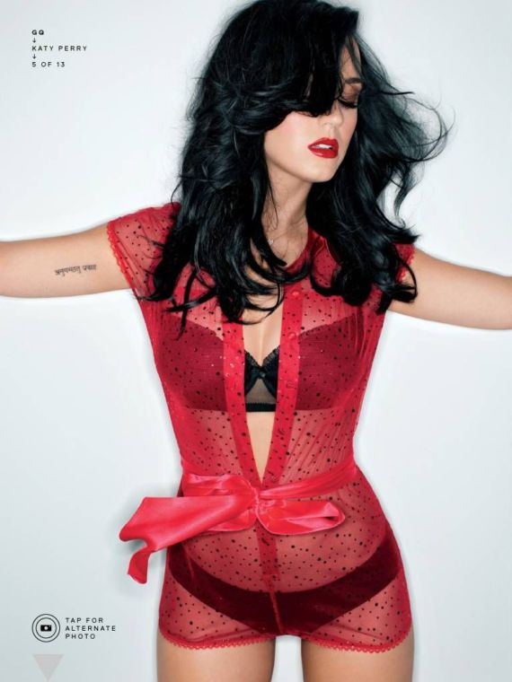 Katy Perry Gracing Up GQ Magazine