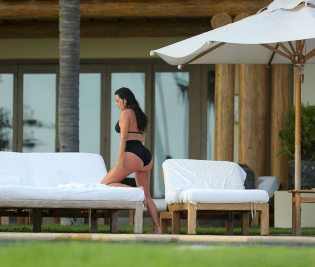 Miss Kardashian On Her Second H