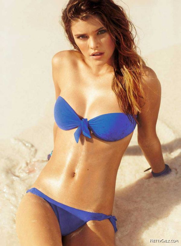 Nina Agdal Bikini Photoshoot For Calzedonia