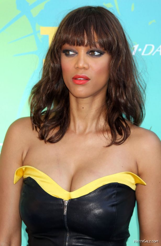Tyra Banks At The T Choice Awards In Universal City