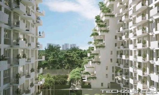 Sky Habitat - A Luxury Residential Complex In Singapore